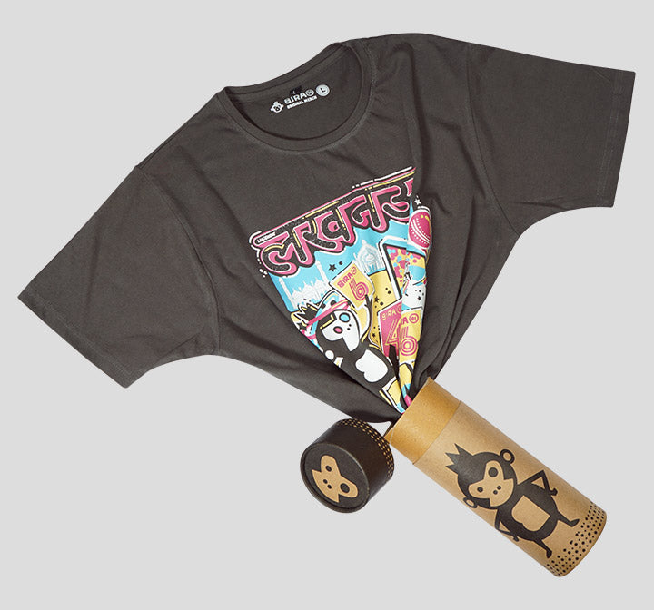 Bira 91 Boom Feat. Lucknow Graphic T-Shirt