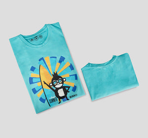 Bira 91 Always Summer Vibe - Blue T-shirt