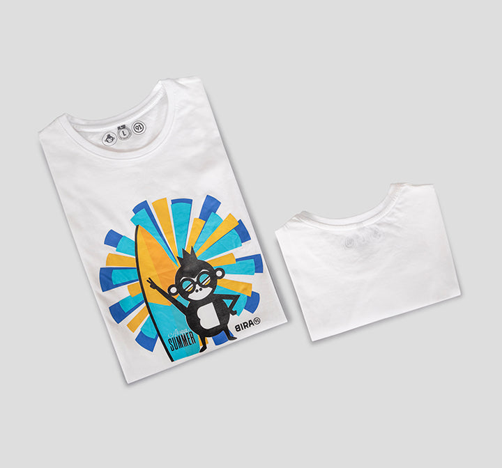 Bira 91 Always Summer Vibe - White T-shirt