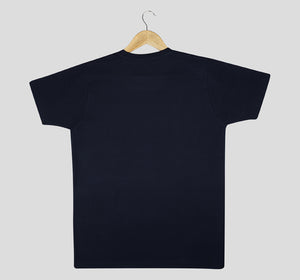Bira 91 Always Summer Multicolour Print T-shirt - Navy Blue