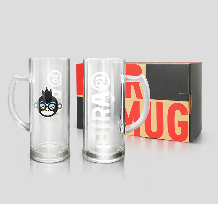 Bira 91 Always Summer Beer Mugs - Set of 2