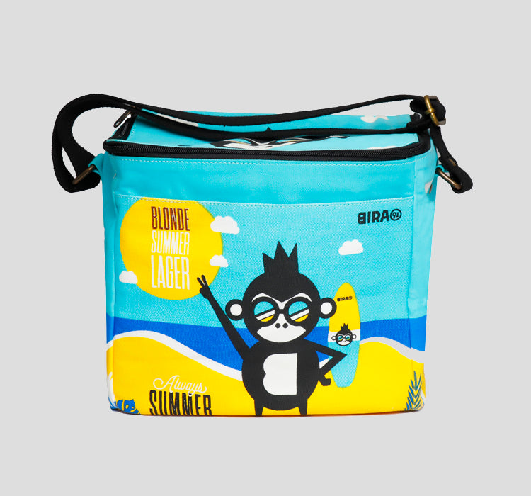 Bira 91 Blonde Summer Lager - Can Cooler Bag