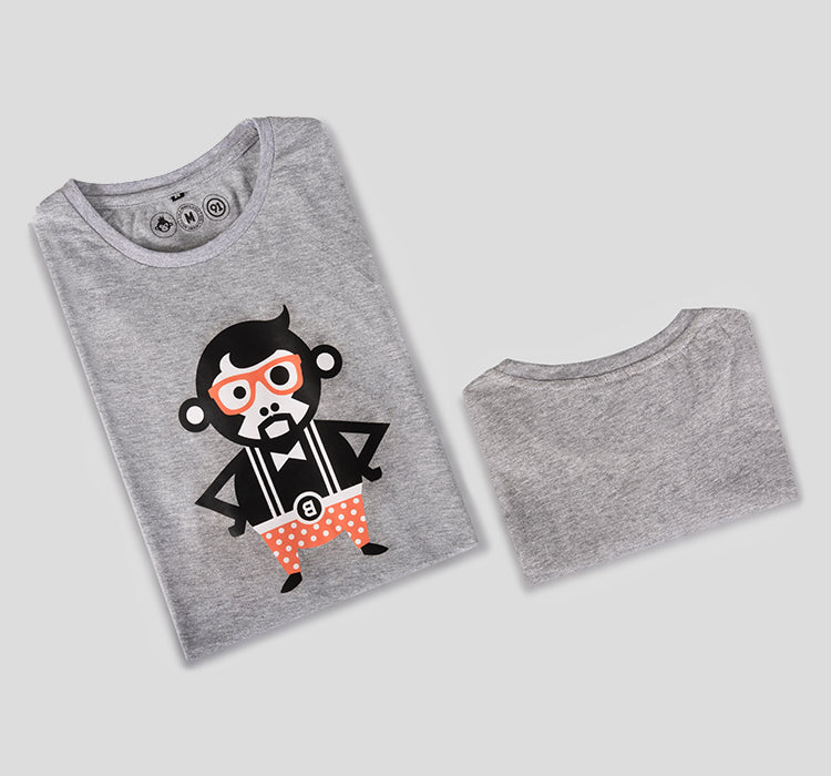 Bira 91 Adman Tee - Light Grey