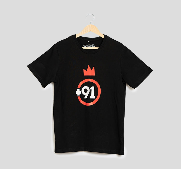 Bira 91 Imagined In India Tee - Black