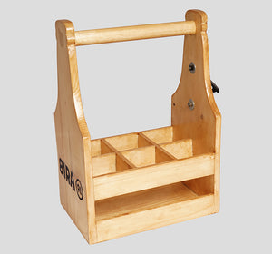 Bira 91 Beer Carrier - Wooden