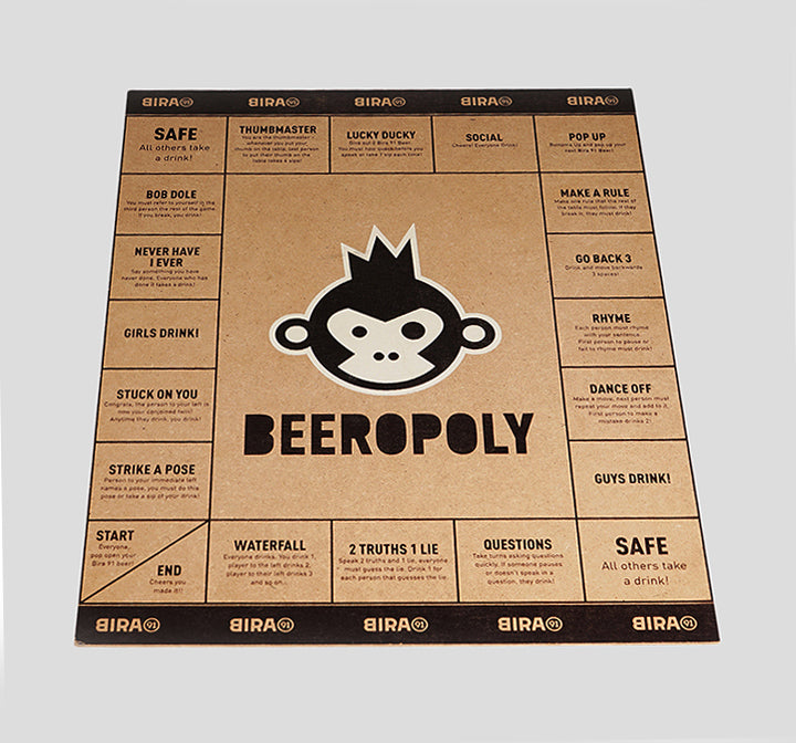Bira 91 Beeropoly Board Game