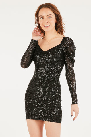 Elegant Ella Sequin Dress