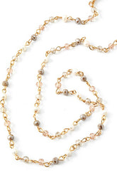 Dainty Chain Beaded Mask Chain