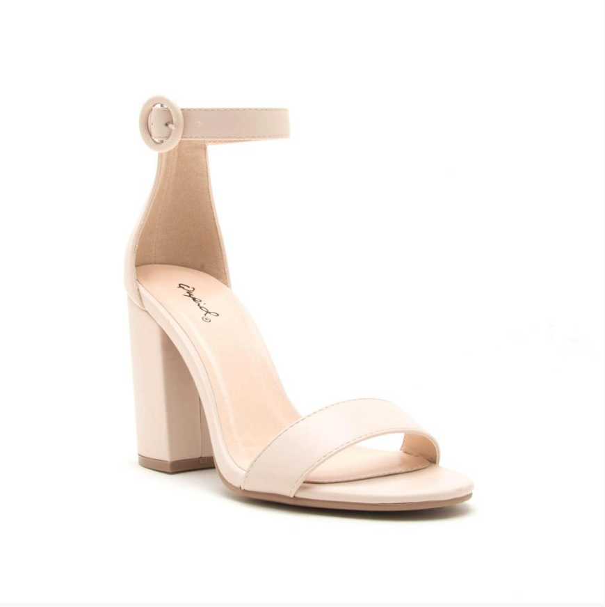 One Band Ankle Strap Sandal