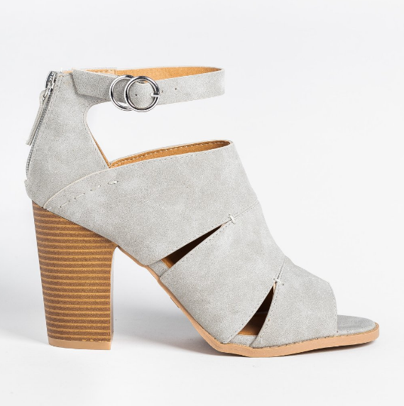 Cut-Out Fashionista BootieS