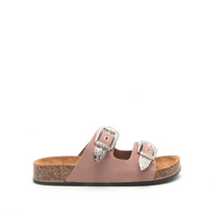 Two Buckle Bands Sandal