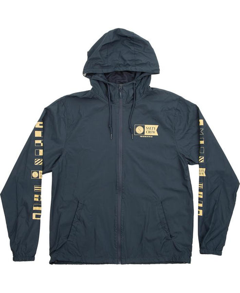 Salty Crew Alpha Windbreaker Navy Jacket