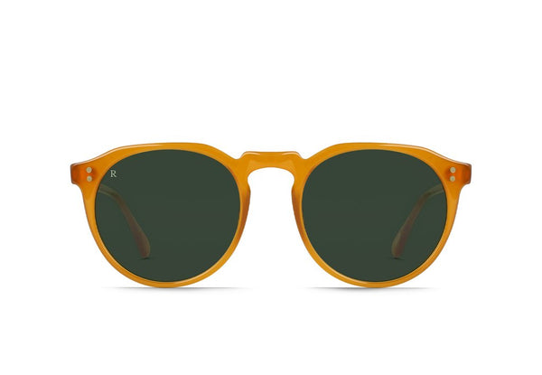 Raen Remmy Sunglasses Honey / Bottle Green