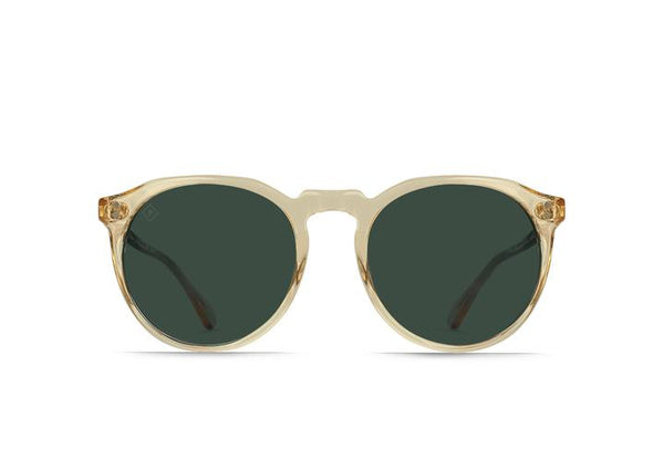 Raen Remmy Sunglasses Champagne Crystal / Green Polarized