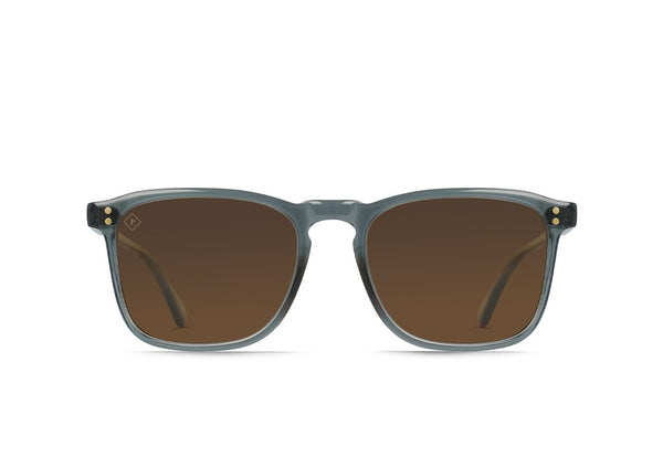 Raen Wiley Sunglasses Slate / Vibrant Brown Polarized