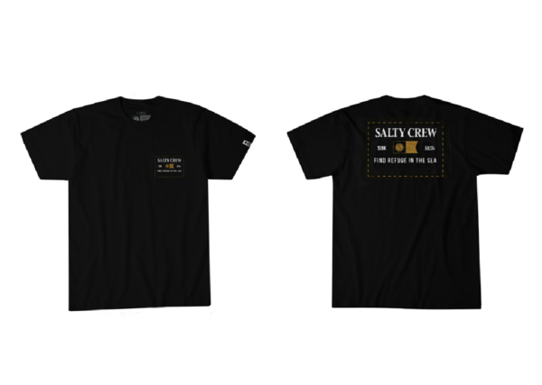 Salty Crew Essentials S/s Tee (Black)