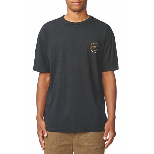 Globe Internations Tee Black