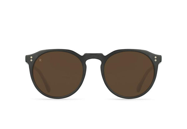 Raen Remmy Sunglasses Black / Tan Brown