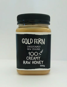 Raw Creamy Honey