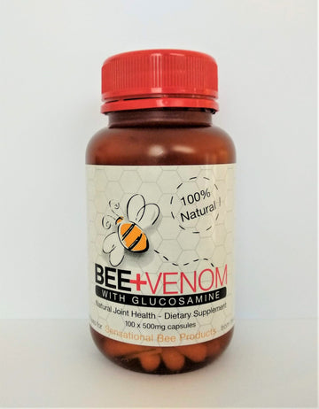 Bee Venom with Glucosamine 500mg 100 Capsules