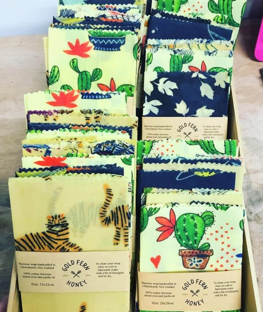 Beeswax single Wraps