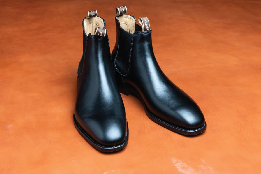 Bedale - Men's Handmade Leather Chelsea Boot By Barker