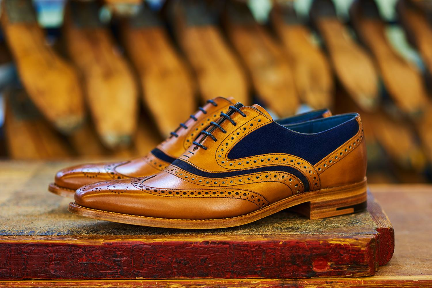 McClean - Most Favorite Men's Brown Wedding Shoe by Barker
