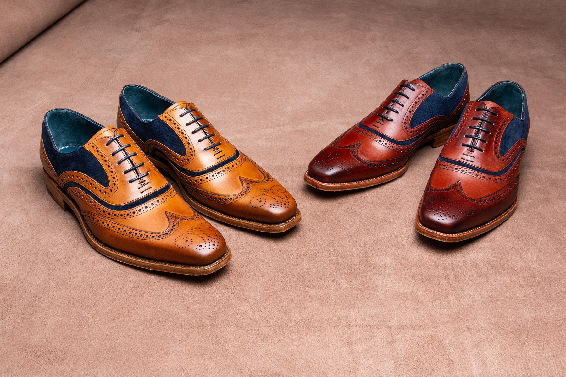 McClean - Men's Handmade Leather Brogues by Barker