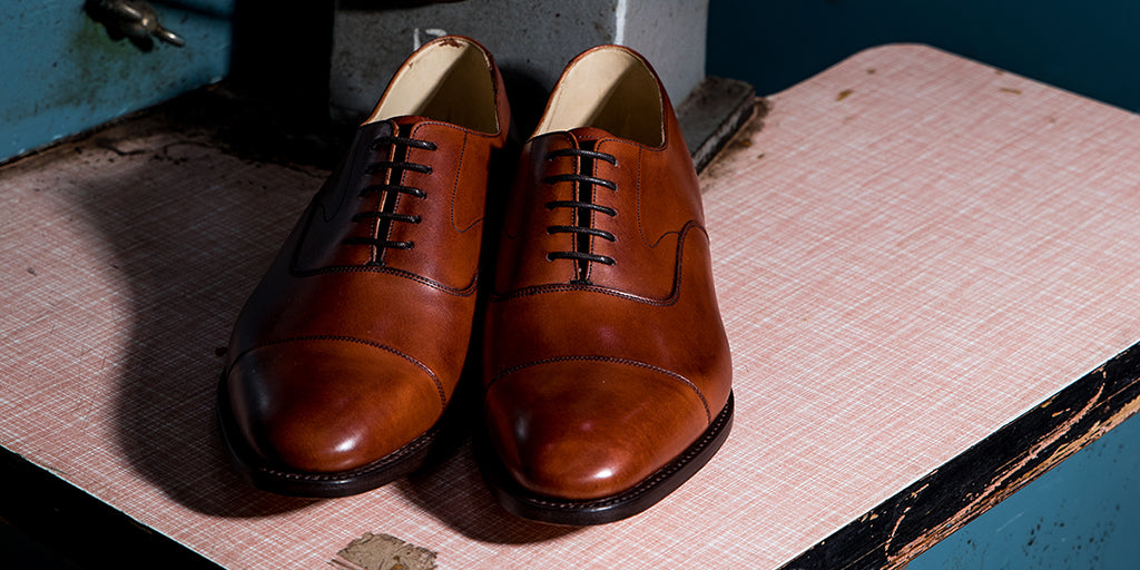 Mens Handmade Leather Oxfords By Barker
