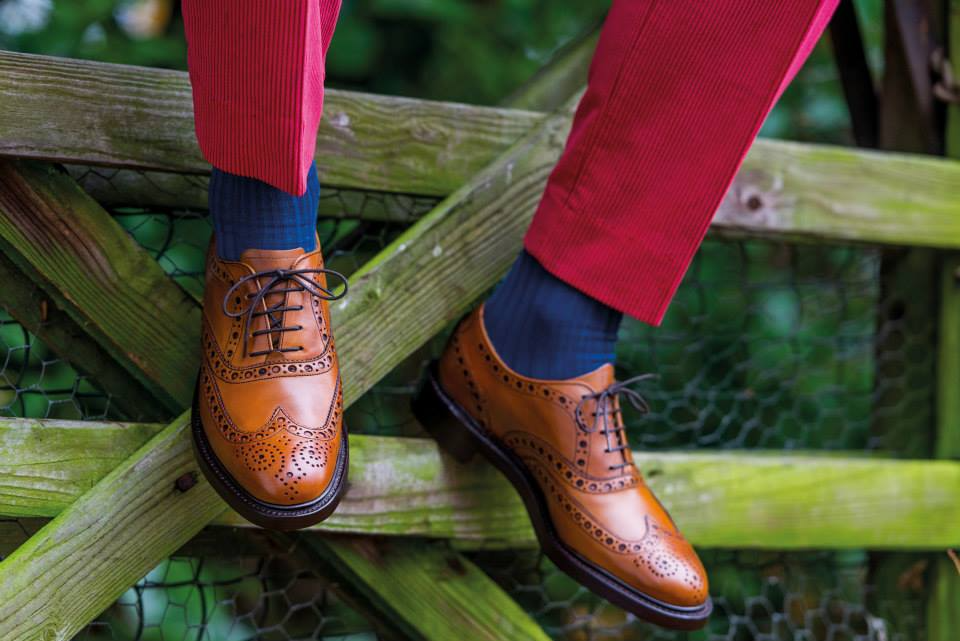 Westfield - Men's Handmade Leather Brogues By Barker.
