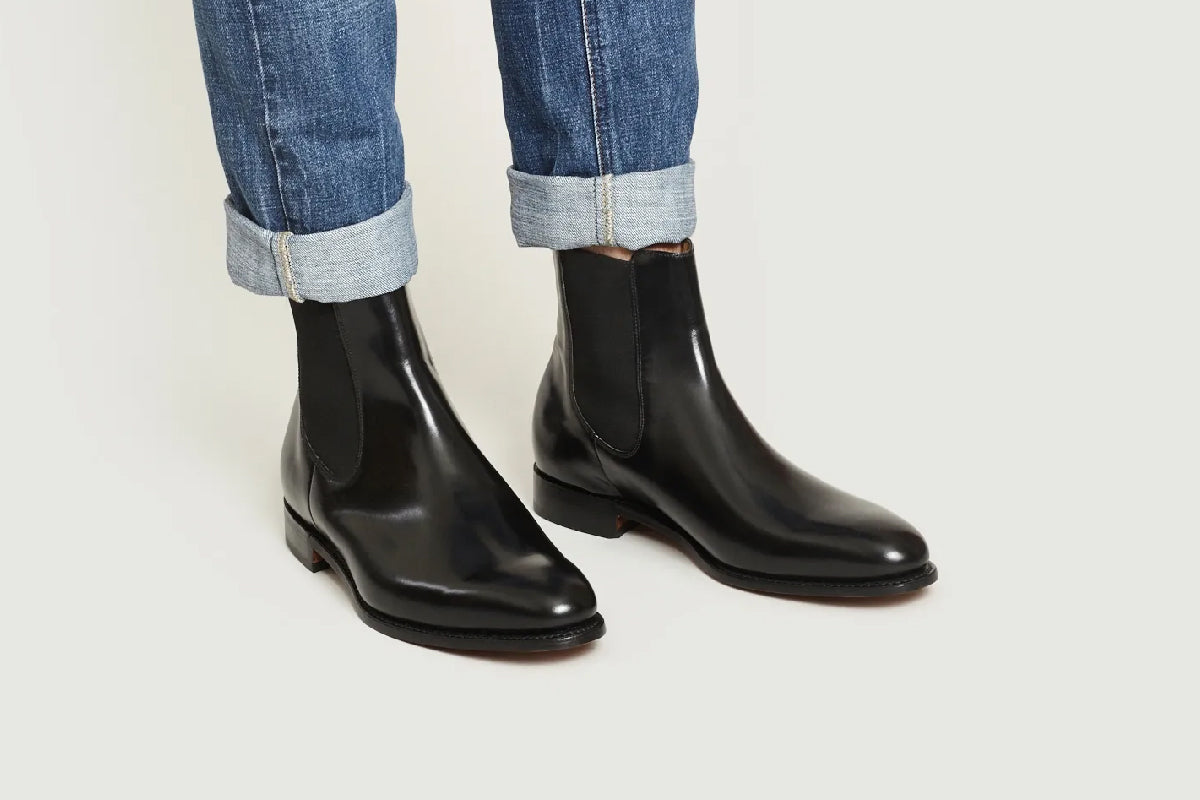 Bedale - Men's Leather Chelsea Boot By Barker