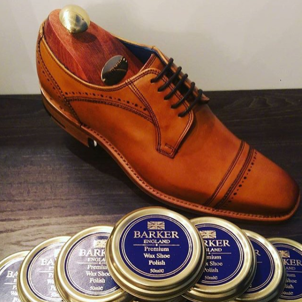 Leather Shoe Wax By Barker