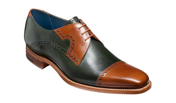 Ashton - Green Grain / Walnut Calf