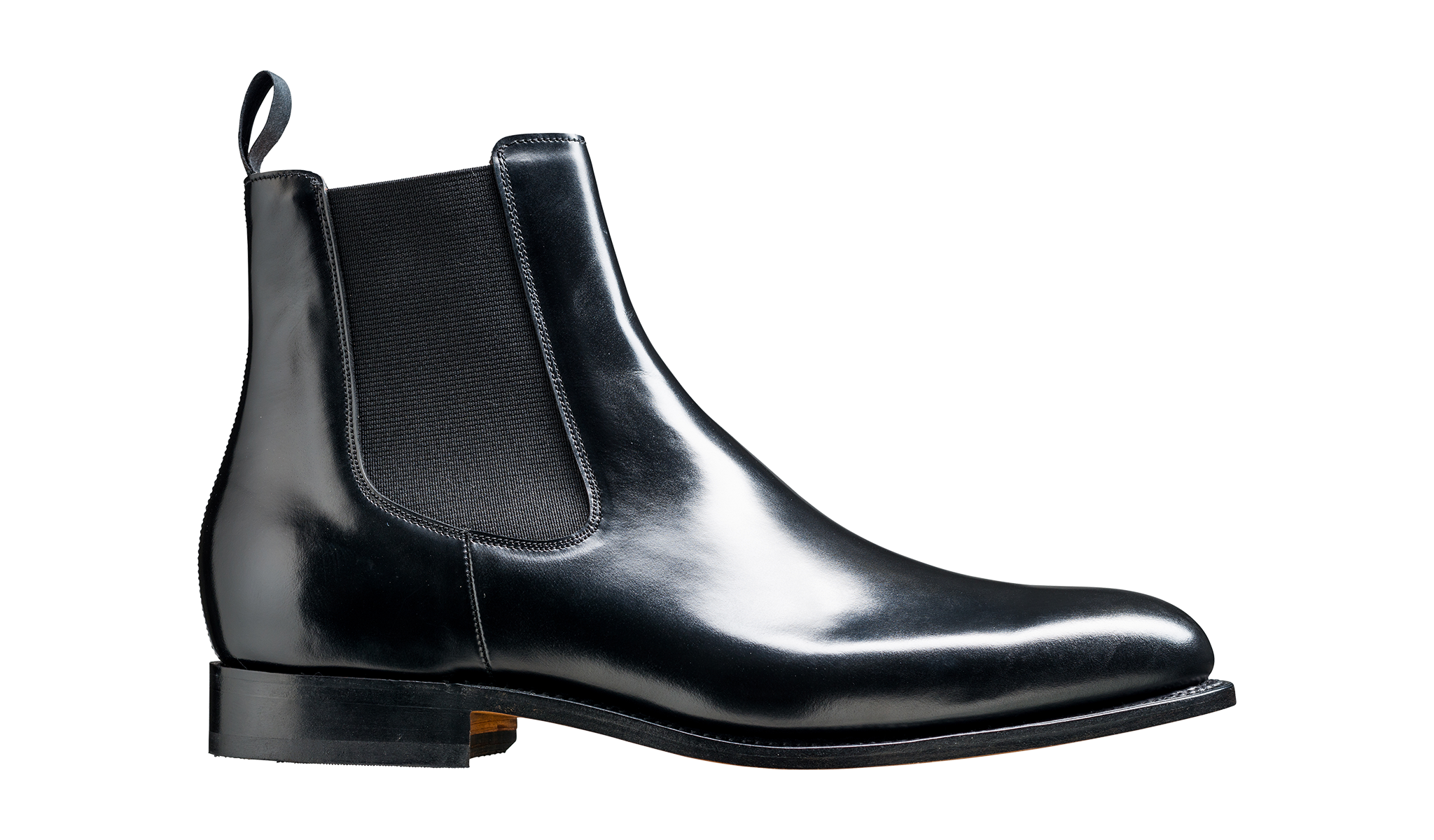 Bedale - Leather Black Chelsea Boot For Men By Barker