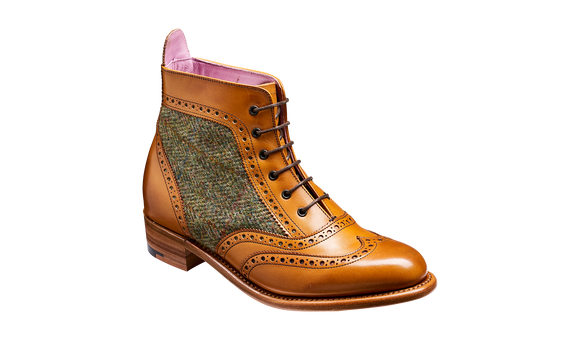 Grace - Cedar Calf / Green Tweed