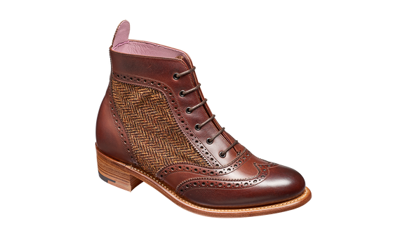 Grace - Walnut Calf Brown Tweed
