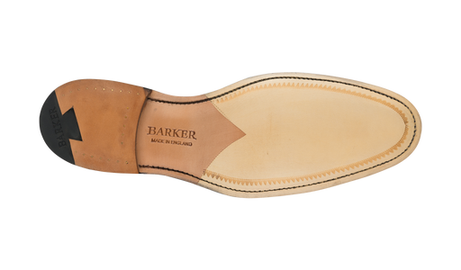 Hopper - Dark Walnut / Burgundy Elastic