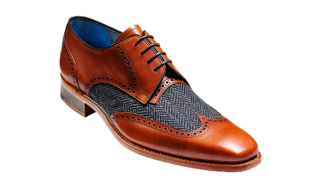 Jackson - Cedar Calf / Blue Tweed