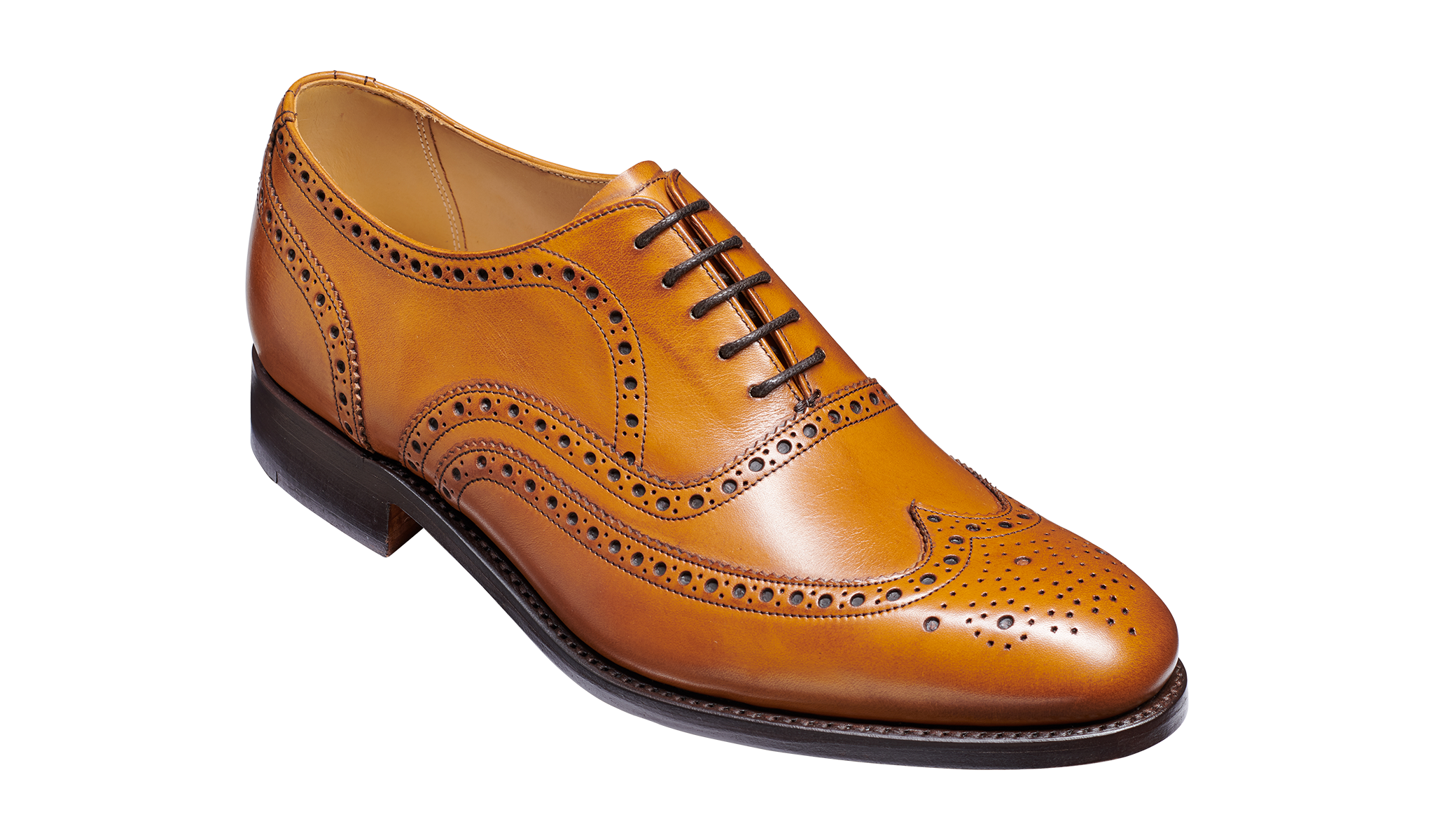Malton - Malton is cedar calf oxford shoe by Barker Shoes famed for its fitting and comfort.