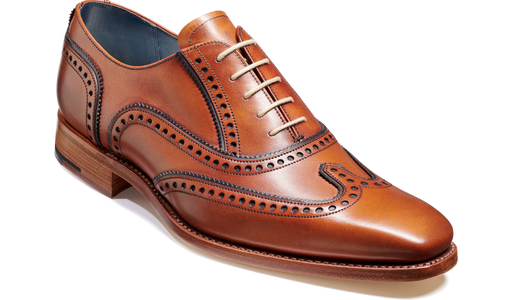 Spencer - Antique Rosewood / Navy Calf