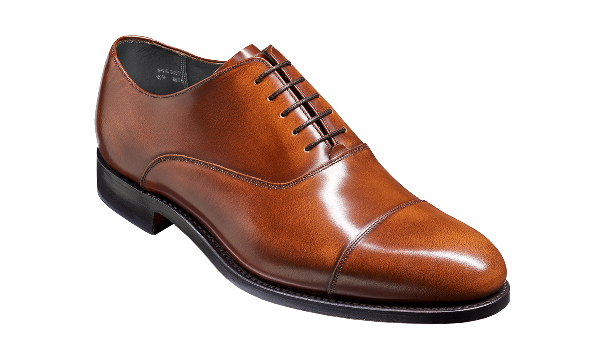 Winsford - Brown oxford handmade shoe from Barker.