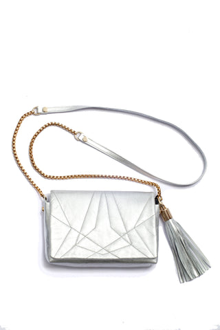 Little Bag of Joy, silver color by Riina Põldroos