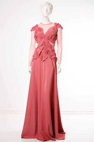 Rose petal  dress by Ketlin Bachmann
