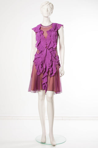Lilac dress by Ketlin Bachmann