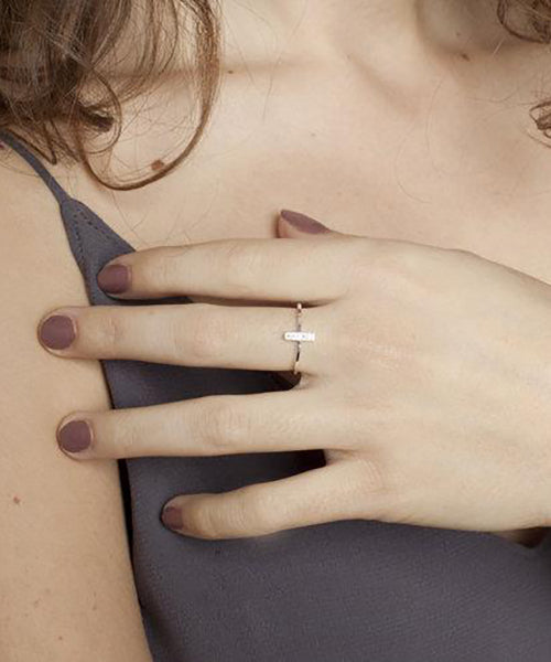 Bague Nova par Jen Ellis Designs