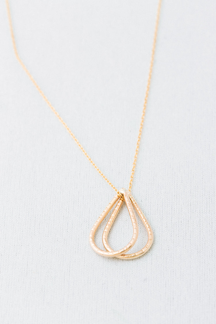 Collier Olivia plaqué Or par Jen Ellis