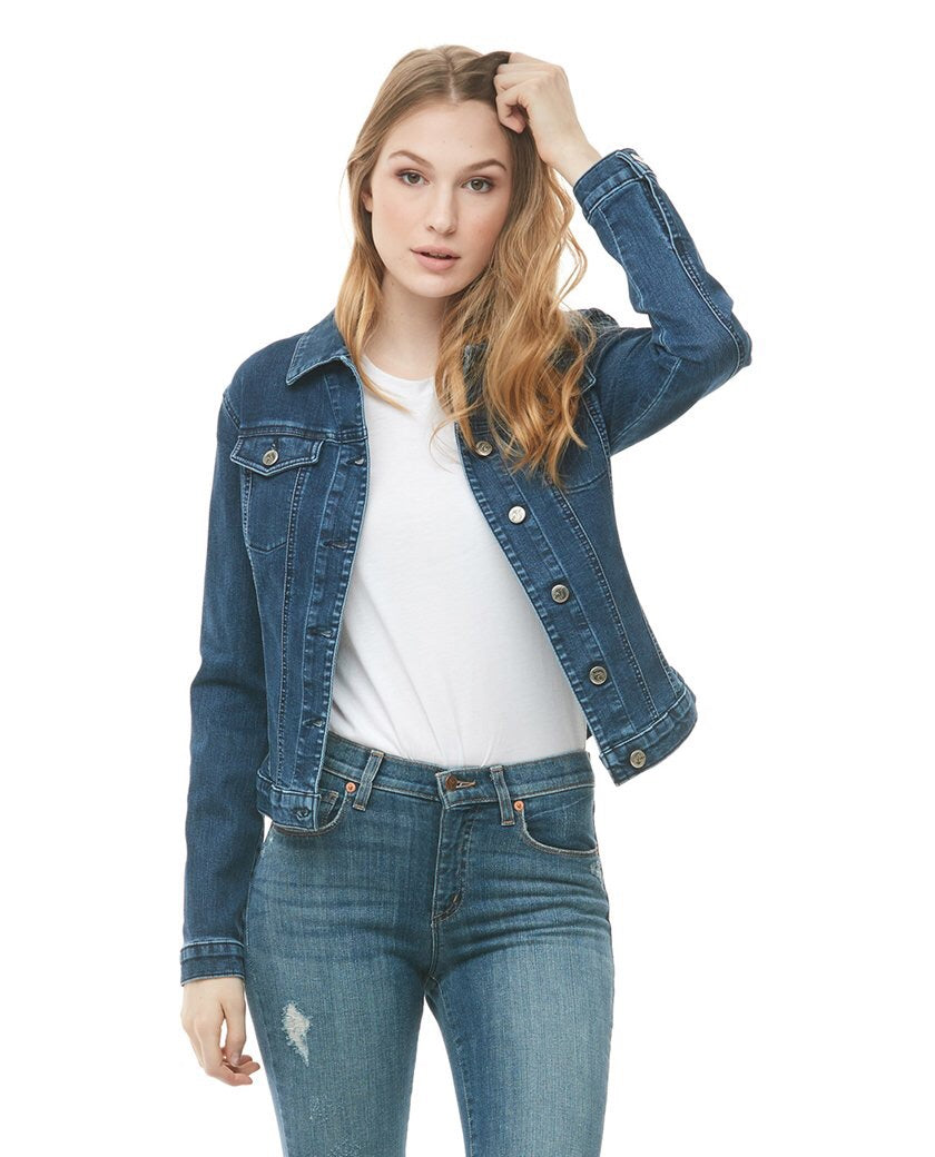 Jacket en denim par Yoga Jeans