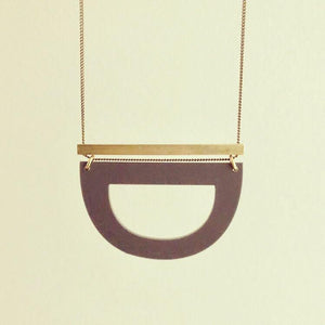 Collier Luppe contrasté par Darlings of denmark