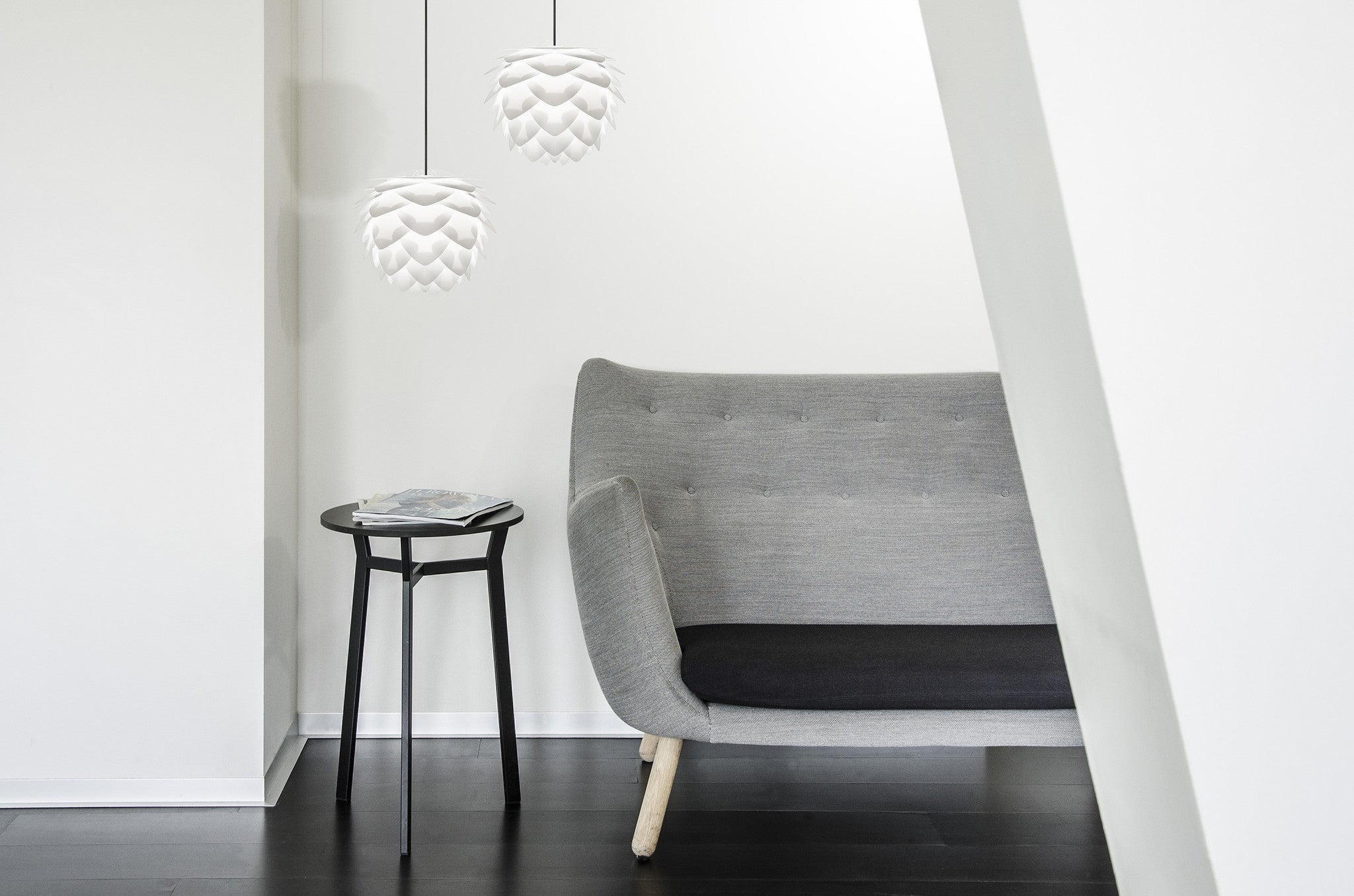 Vita Lighting | Silvia Mini White Pendant Shade
