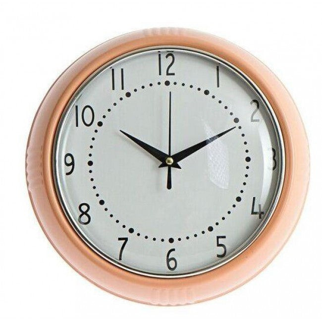 Kitsch Kitchen | Pink Cocina Wall Clock